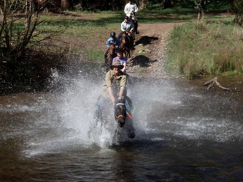 Пат Парели: Уверено преминаване през вода